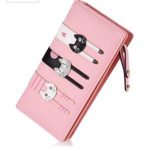 Handbags - Double sided kitty wallet